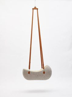 A Hanging Felt Cradle Inspired by the Womb - Design Milk Nest Design, Baby Furniture, Baby Cribs, Baby Bassinet, Cool Baby Stuff, Kids Decor, Baby Love, Cool Kids, Kids Room