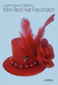 DIY Mini Hat Fascinator