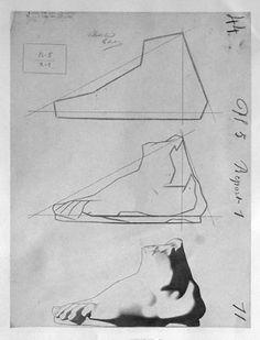 Bargue drawing copies tutorial