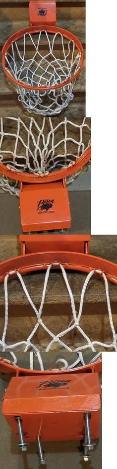 Rims and Nets 158962: Bison Basketball Goal Rim New Ready To Install -> BUY IT NOW ONLY: $165 on eBay!