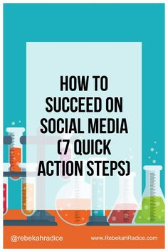 Ever wonder what separates successful social media marketers from those that fail? Here's 7 action steps to help you succeed on social media.