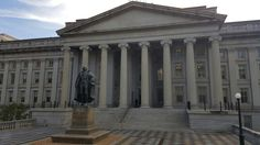 US Department of the Treasury in Washington, D.C.