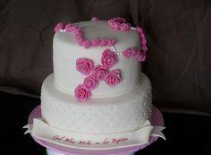 Baptism Cross Cakes for Girls | Baptism Rosary Cake | Piece of Cake
