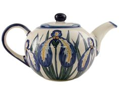 Polish Pottery Teapot ..I don't have the pot but i do have the pattern...and love it