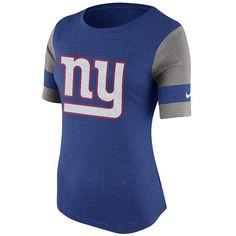 New York Giants Frauen T-Shirt Logo    Das New York Giants Frauen T-Shirt Logo ist optimal fürs Stadion und für Freizeitaktivitäten geeignet. Mit dem New York Giants Frauen T-Shirt Logo aus 100% Baumwolle aus dem Hause Nike bist du der FAN deines Teams!    Hersteller: Nike  Team: New York Giants  Material: 100% Baumwolle...