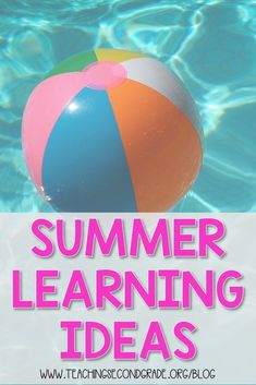 Summer vacation doesn't mean that the learning has to stop! Fill your child's summer with fun and exciting and exercise their minds too! Kindergarten Activities, Learning Activities, Kids Learning, Outdoor Learning, Practice Math Problems, Teaching Second Grade, Summer Activities For Kids, End Of Year, Teacher Hacks