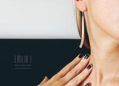 Sterling silver & cubic. Handmade jewelry by Emilia I.  https://www.facebook.com/emiliai.joyas/
