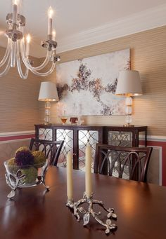 Any way to add mirrors to dining room furniture