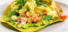 Tostada with Avocado and Eggs