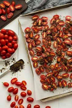 Za'atar Roasted Tomatoes from Maureen Abood's The Rose Water & Orange Blossoms Cookbook