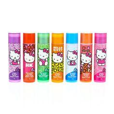 Hello Kitty 7 Pack Fruit Lip Balms, Make Up, Lipbalm, Lips, all, Make Up, Brands, Hello Kitty, Characters, NEW - Sweet Shop, Inspire Me..., ...