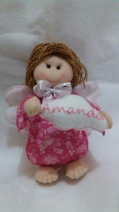 Anjinha Amanda em Feltro
