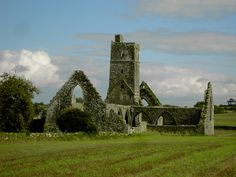 Remains of an old church  - County Cork
