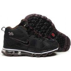 Nike air max griffeys fury 2012 black/brown shoes