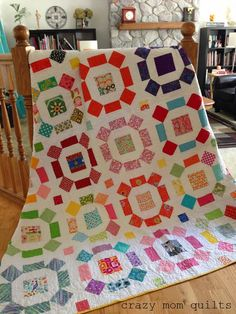 crazy mom quilts: a very special quilt