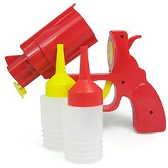 16 ways to make your kitchen even more fun! #14 - get a ketchup and condiment gun