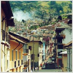 Quito, Ecuador-visited...is one of my top five places ever I luv it here!