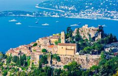 For a cinematic French Riviera scene, skip Nice's pebbly waterfront in favor of Eze, a tucked-away j... - (Getty Images)