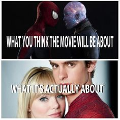 Amazing spiderman 2- I wish it was about the top one more....