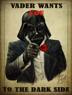 Lord Vader wants you for the dark side!