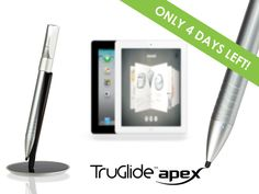 TruGlide Apex: Fine Point Electronic Stylus for iPad by Bob Martin — Kickstarter