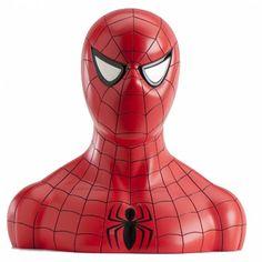 Tirelire SpiderMan 18 Cm avec Bonbons