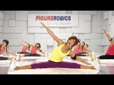 (HD) Jungdayeon_Figure Mat Strong muscular aerobic exercise to sit on the floor, prone, and lie down using a mat to create even better lines through strong stimulation of abdominal, waist and lower body muscles that are difficult to do while standing. Fat Burning Cardio Workout, Belly Fat Workout, 30 Day Workout Plan, Walking Everyday, Lower Body Muscles, Body Combat, 30 Day Fitness, I Work Out, Aerobics