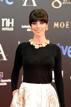Las joyas de las actrices en la gala de los Premios Goya 2013: Maribel Verdú con Bulgari