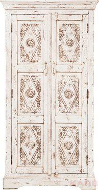 Taberna Wardrobe White 2 Doors