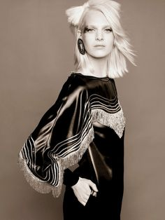 Ashleigh Good Stars in Chanel Pre Fall 2014 Shoot by Karl Lagerfeld