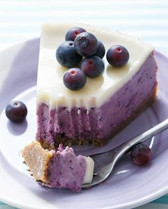Blueberry Creme Fraiche Cheesecake: While you may have your reservations about a 308 calories slice, consider this: A few of the tiny blueberry bullets can shrink your waist, fight cancer, lower your risk for disease, boost your brainpower, spot reduce belly fat and more.