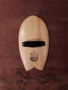 Handplane 7.5 x13.5 w/ Double Concave by NousHandplanes on Etsy, $100.00