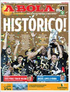 Prensa deportiva del 21 de mayo 2012 – Montpellier Campeón de la Liga Francesa y Santos Laguna Campeón del Clausura de México. | discutivo.com