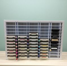 60 Ink Pad/ Marker Combo organizer