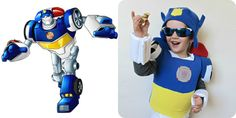 homemade by jill: comfy dress up: Transformers Halloween Costume