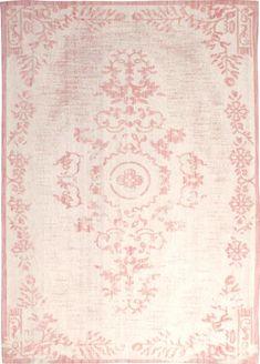 Vloerkleed Oase Roze 200 x 290 cm Wol By-Boo - LiL.nl