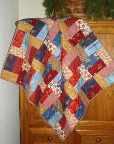 American Vintage Quilts: Little Cowboy Quilt is finished