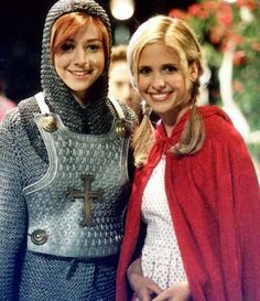 Joan of Arc Willow and Little Red Riding Hood Buffy! 'Fear Itself' Season 4-Episode 4