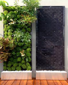 Vivit Green Wall Pflanzenwand Vertical Garden Diy, Koti, Outdoor Structures, Green, Gardens, Gutter Garden, Wall Design, Balcony, House