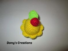 Cupcake _ pattern free italiano http://donyscreations.blogspot.it/