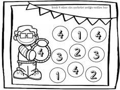 "@etkinlikasigi on Instagram: ""Gorsellere profilde ki linkten ulasabilirsiniz🇹🇷🔛 #teachersfollowteachers"" Kindergarten Math Worksheets, Math Activities, Alphabet, 1, Clip Art, Printables, Teacher, Letters, Boys"