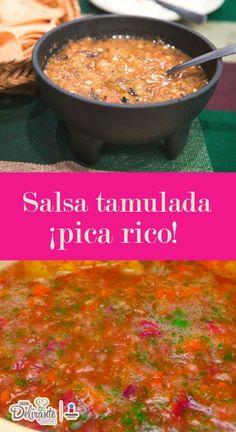 receta de salsa tamulada   CocinaDelirante