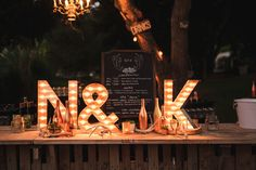 handcrafted California wedding at Retro Ranch - photo by Leif Brandt Photography http://ruffledblog.com/handcrafted-california-wedding-at-retro-ranch