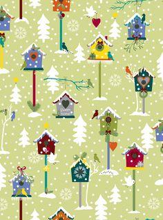 Snow Village by STOF fabrics