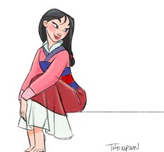 Mulan by Steve Thompson
