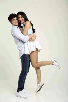 They are perfect together 👫💖 James Reid, Nadine Lustre, Perfect Together, Jadine, Beautiful Pictures, Ballet Skirt, Couples, People, Book Covers