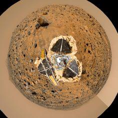 "Mars Pathfinder ""Filled Donut"" Mosaic"