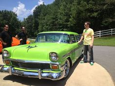 Dale's Diet Mt. Dew 1956 Chevy Nomad wagon built by Gas Monkey Garage! YES!
