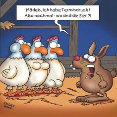 noch 6 x schlafen - dann ist Ostern! :o)