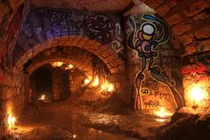 carrieres souterraines de Paris : In situ plein sud, mon 50éme perso.... | psyckoze